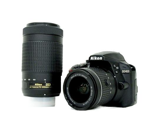 Nikon ニコン 一眼レフ D3400 ダブルズームキット デジタル カメラ