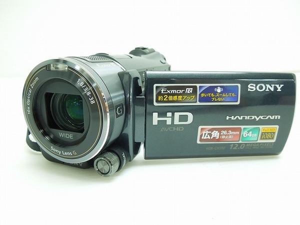 SONY ソニー Handycam HDR-CX550V B デジタル HD ビデオカメラ ブラック