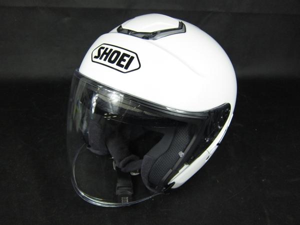 SHOEI J Cruise ジェイ-クルーズ Lサイズ 59cm ホワイト ジェット ヘルメット バイク用品