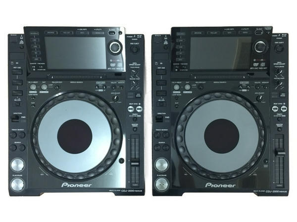 Pioneer パイオニア CDJ-2000NXS DJ 2機セット プロフェッショナル マルチ プレーヤー デジタル 音響機材