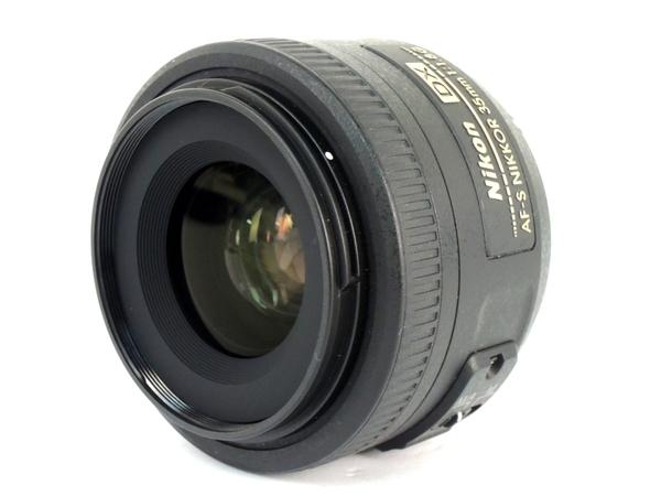 Nikon ニコン AF-S DX NIKKOR 35mm f 1.8G カメラ レンズ 単焦点 ブラック