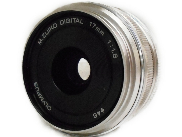 OLYMPUS オリンパス M.ZUIKO DIGITAL 17mm F1.8 カメラレンズ 単焦点 シルバー