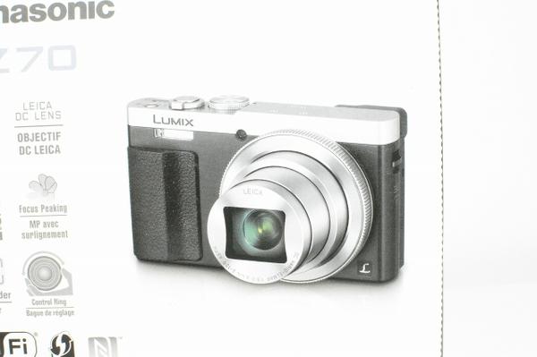 Panasonic パナソニック LUMIX DMC-TZ70-S デジタルカメラ コンデジ シルバー