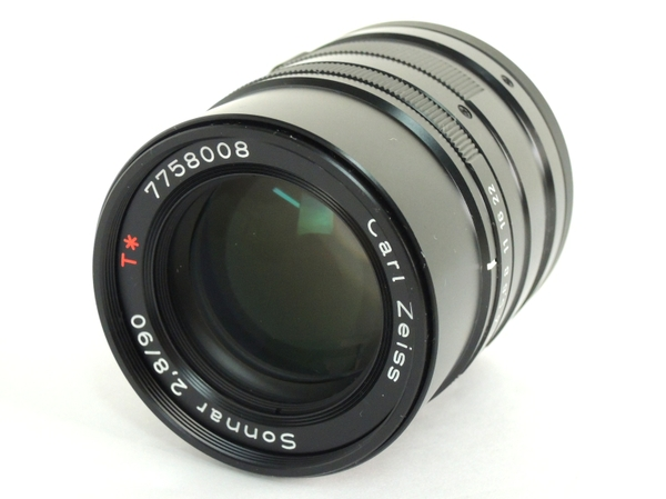 CONTAX Carl Zeiss Sonnar T* 90mm f2.8 BLACK レンズ