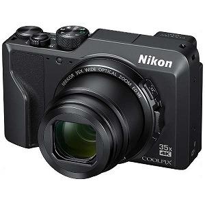 Nikon ニコン デジタルカメラ COOLPIX A1000 光学35倍 ISO6400 アイセンサー付EVF クールピクス ブラック A1000BK