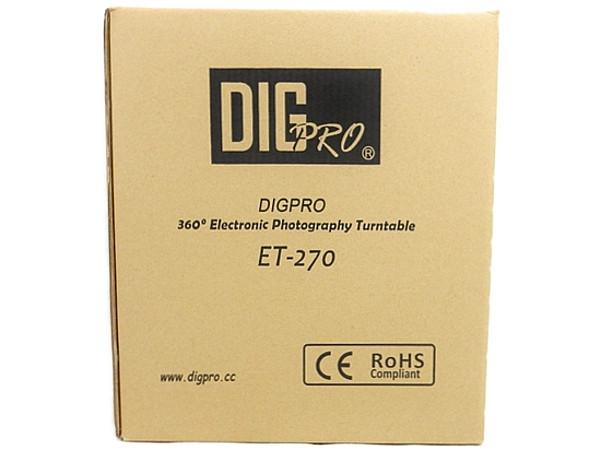 DIG Pro ET-270 360° 撮影 ターンテーブル カメラ