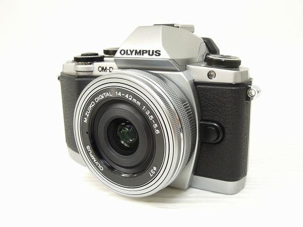 OLYMPUS オリンパス OM-D E-M10 14-42 EZ レンズキット SL カメラ ミラーレス一眼 シルバー