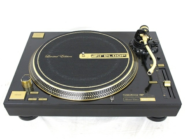 Reloop RP-7000 GLD DJ 20周年記念モデル 完全数量限定品