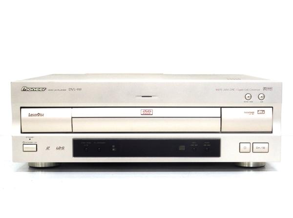 Pioneer パイオニア DVL-919 DVD/LD コンパチブルプレーヤー リモコン付