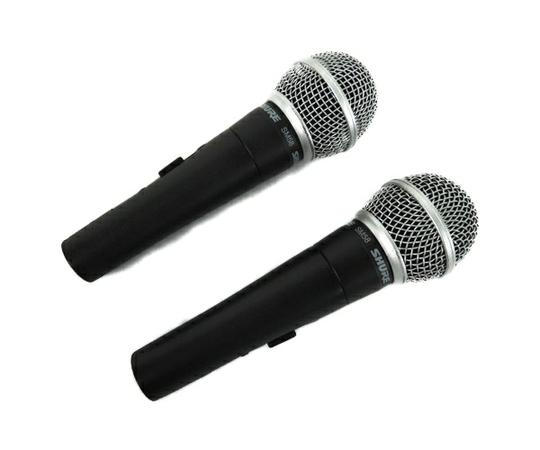 SHURE SM58 ダイナミック ボーカル マイクロホン 2本 セット