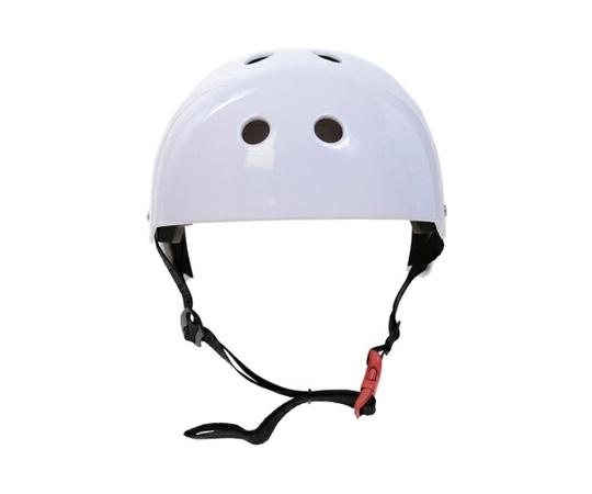 バランススクーター 大人用 ヘルメット プロテクターセット ホワイト 56-58cm ミニセグウェイ [単体での注文不可]