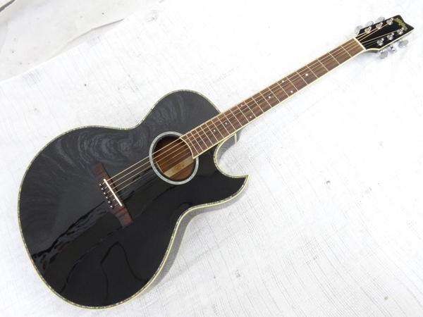 Washburn ワッシュバーン EA40SNB エレアコ エレキアコースティックギター ギター ブラック系