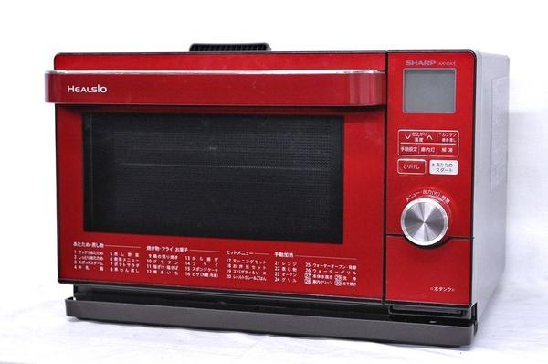 SHARP シャープ ウォーターオーブン ヘルシオ AX-CA1-R 電子オーブンレンジ 18L レッド