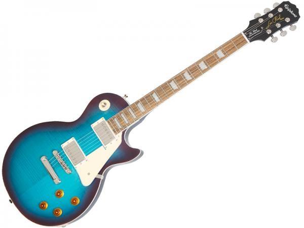 Epiphone エピフォン Les Paul レスポール スタンダード エレキ ギター ブルーベリーバースト PLUS-TOP PRO BL