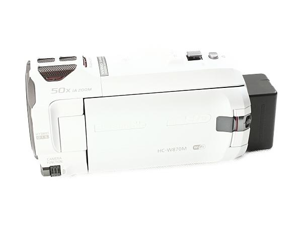 Panasonic パナソニック ビデオカメラ HC-W870M-W ワイプ撮り 軽量 ハイビジョン デジタル カメラ ホワイト