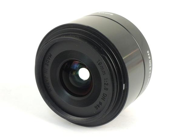 シグマ 19mm F2.8 EX DN マイクロフォーサーズ用