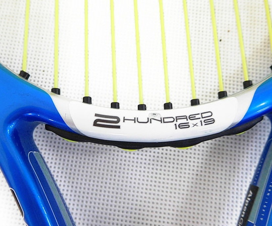 Dunlop ダンロップ 硬式 テニスラケット 2本セット aerogel 4D 2HUNDRED