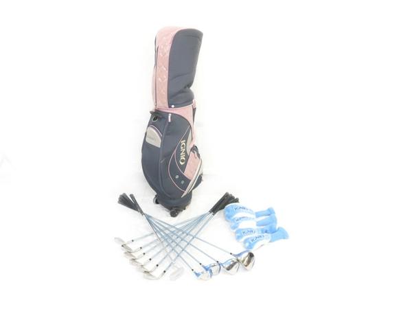IGNIO EL レディースゴルフセット 11本 キャディバッグ付き イグニオ