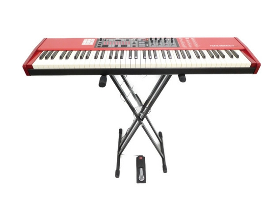 CLAVIA Nord Electro 3 73鍵盤 シンセサイザー スタンド ペダルセット パフォーマンス キーボード  ノードエレクトロ3 73 ケース付