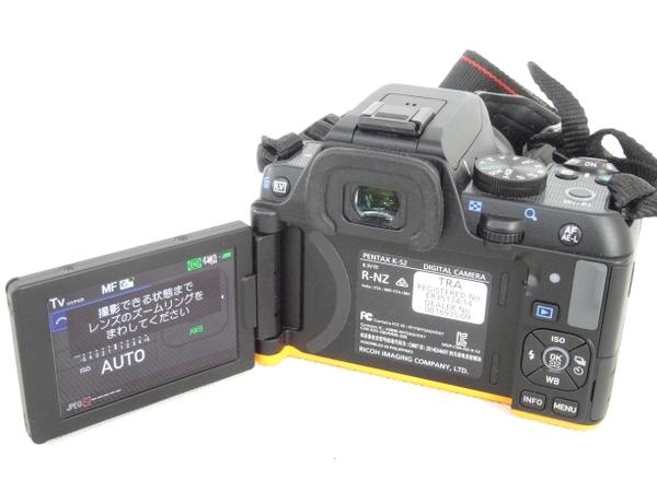 リコーイメージング PENTAX ペンタックス K-S2 18-50 RE キット ブラック×オレンジ 一眼レフ カメラ 防水