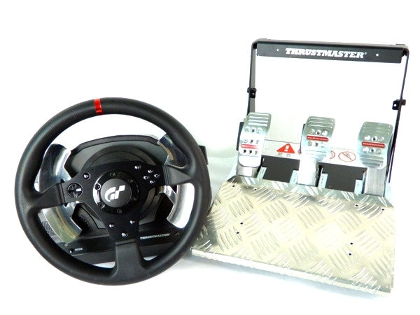 Thrustmaster T500RS THE Real Simulator Racing Wheel GT5 PS3 ハンドル コントローラー