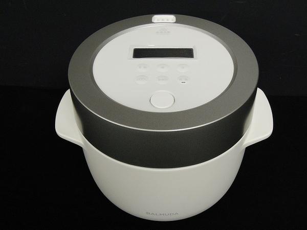 BALMUDA バルミューダ The Gohan 炊飯器 ホワイト 家電