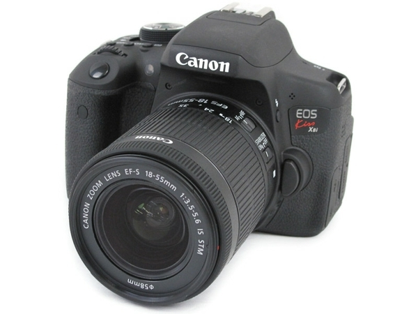 Canon キヤノン 一眼レフ EOS Kiss X8i レンズキット デジタル カメラ EOSKISSX8I-1855ISSTMLK