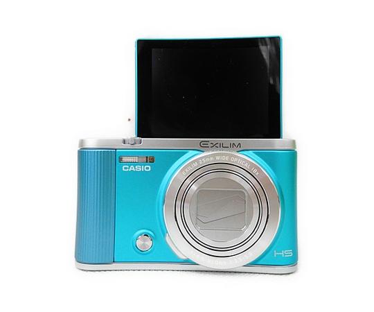 CASIO カシオ デジタルカメラ EXILIM EX-ZR1800BE ブルー デジカメ コンデジ Wi-Fi 自撮り