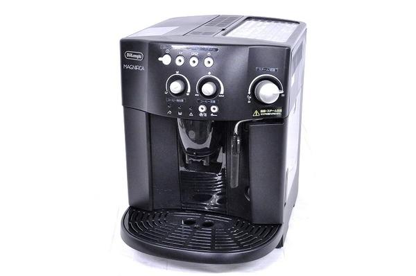 DeLonghi デロンギ MAGNIFICA ESAM1000SJ エスプレッソマシン コーヒーメーカー ブラック キッチン家電 エスプレッソメーカー エスプレッソマシーン