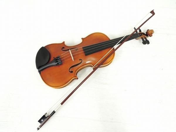 YAMAHA ヤマハ T.YAMADA V7G 4/4 バイオリン 弓付 弦楽器 楽器 ヴァイオリン