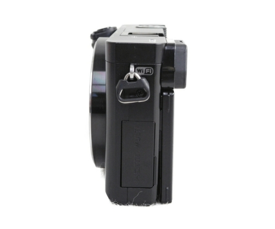 SONY ソニー ミラーレス一眼 α6000 ダブルズームレンズキット ILCE-6000Y B ブラック カメラ