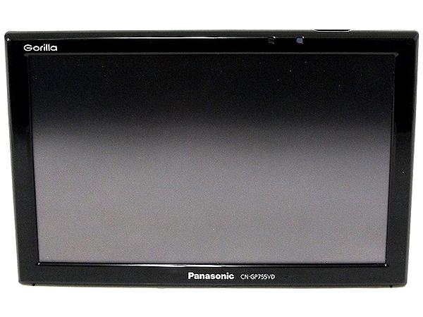 Panasonic パナソニック Gorilla CN-GP755VD カーナビ SSD ポータブル 7型