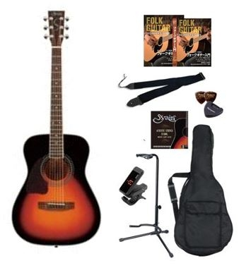 S.Yairi ヤイリ アコースティックギター 入門セット 教則DVD付 YF-5R 3TS アコギ フォークギター 【延長料金100円/1日】
