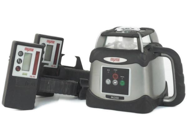 マイゾックス myzox MJ250 自動 整準 レーザー レベル 回転 受光器 電動 工具