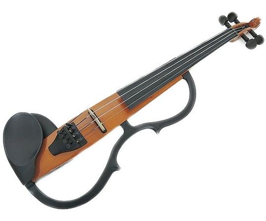 YAMAHA ヤマハ SV-100 サイレントバイオリン 弓・肩当て付  ヴァイオリン エレキ