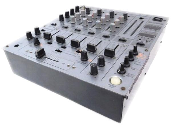 Pioneer パイオニア DJM-600 DJミキサー 4.0ch ダークシルバー