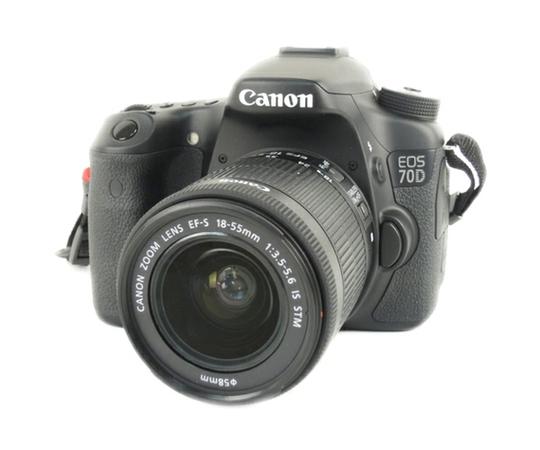Canon キャノン 一眼レフ EOS 70D レンズキット EF-S18-55 IS STM カメラ EOS70D1855ISSTMLK
