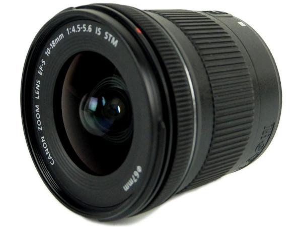 Canon キャノン 交換レンズ 超広角 EF-S 10-18mm F4.5-5.6 IS STM APS-C 対応 ズームレンズ 一眼レフ EF-S10-18ISSTM