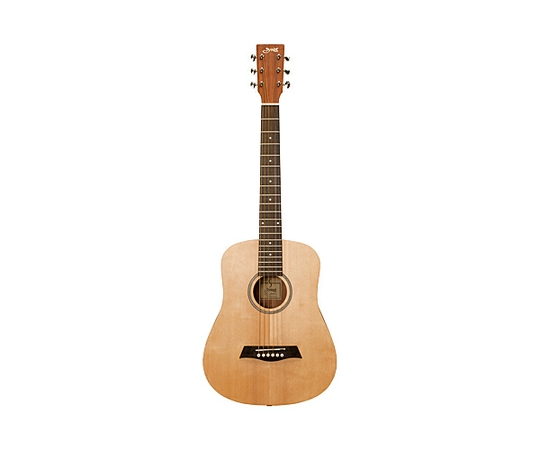 ミニギター S.Yairi ヤイリ YM-02E ミニギター エレアコ アコースティック ナチュラル ソフトケース付き