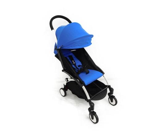 Baby Zen ベビーゼン ヨーヨープラス 6+ ベビーカー ホワイトフレーム Yoyo 6+ ブルー コンパクト