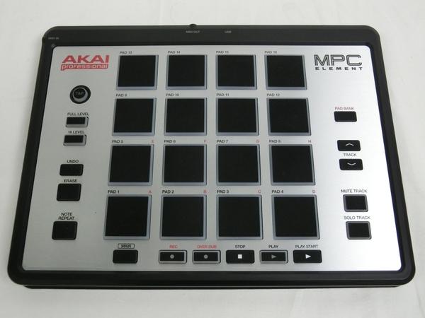AKAI professional アカイ MPC ELEMENT MIDI コントローラー コンパクト