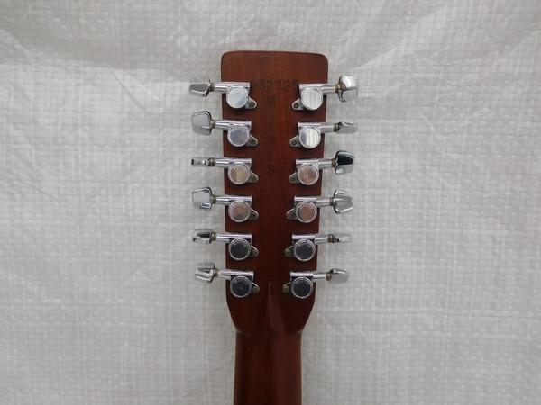 Morris 12弦 アコースティックギター B-60 モーリス ハカランダ