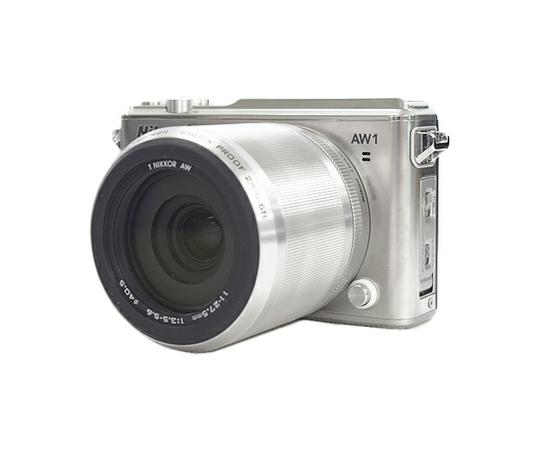 Nikon ニコン ミラーレス一眼 Nikon1 AW1 防水ズームレンズキット シルバー N1AW1LKSL カメラ アウトドア 登山 一眼
