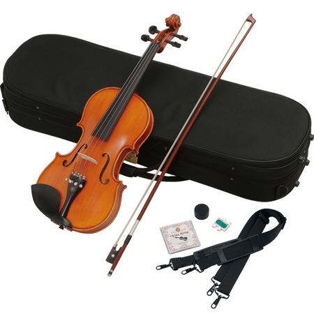 ヴァイオリン 4/4サイズ 弓・肩当て付き バイオリン ハルシュタット  V-45
