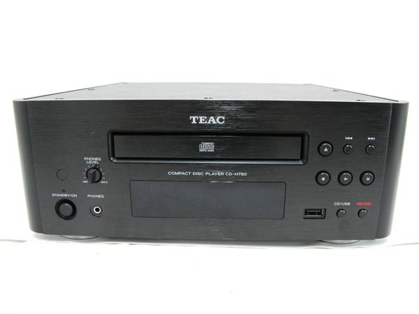 TEAC CD-H750 ティアック CDプレーヤー ブラック リモコン付