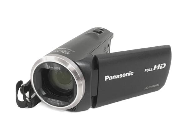 Panasonic パナソニック ビデオカメラ HC-V480MS ブラック 内蔵32GB フルハイビジョン カメラ