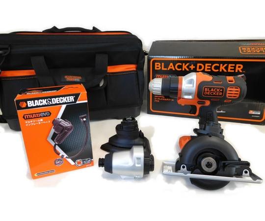 ブラックアンドデッカー 18V マルチツールプラス バッテリー 2個 EVO183P1-JPBI