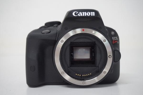 Canon キヤノン 一眼 レフ EOS Kiss X7 ダブルズームキット カメラ デジタル ブラック KISSX7-WKIT