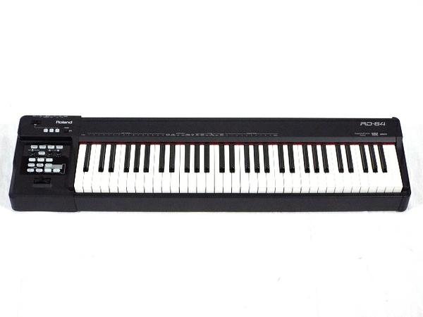 Roland RD-64 電子 ピアノ ペダル付 ステージピアノ ローランド 64鍵盤 楽器