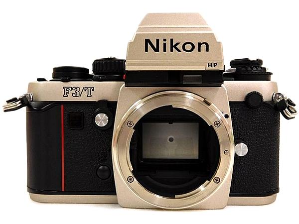 Nikon ニコン F3/T 一眼レフ フィルムカメラ チタンカラー ボディ